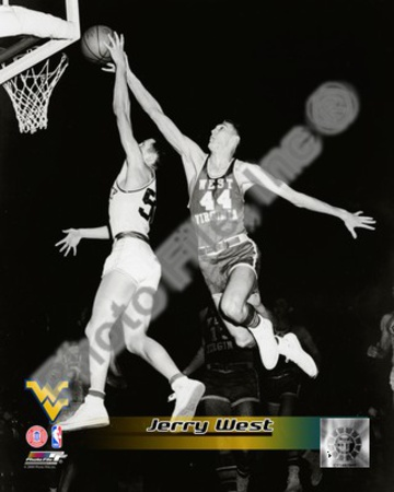 West Virginia Mountaineers  - Jerry West Photo Photo