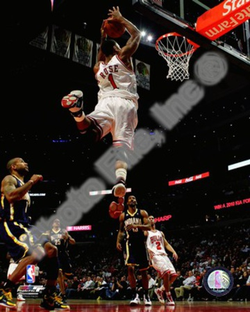 Chicago Bulls - Derrick Rose dunk Photo