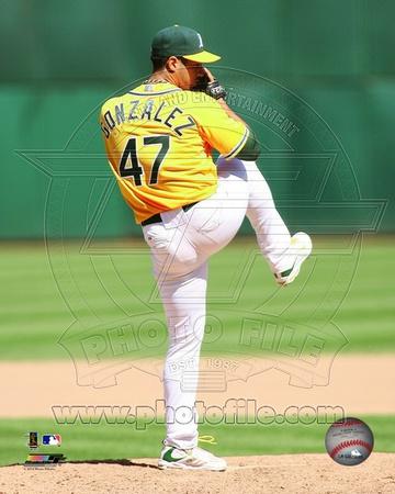 Oakland Athletics - Gio Gonzalez Photo Photo