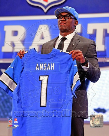 Detroit Lions - Ezekiel Ansah Photo Photo