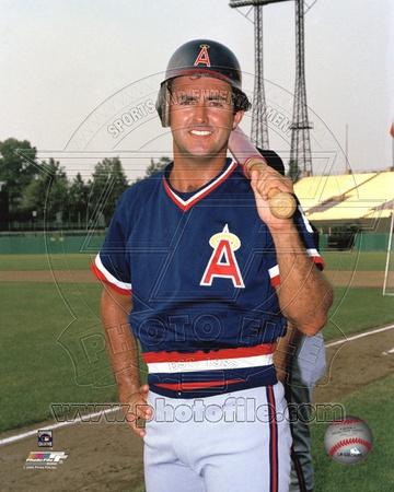 Anaheim Angels - Fred Lynn Photo Photo