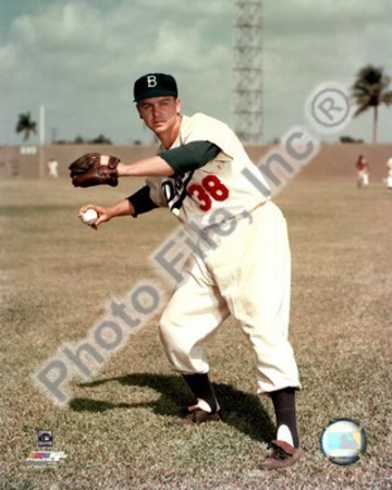 Brooklyn Dodgers - Dick Williams Photo Photo