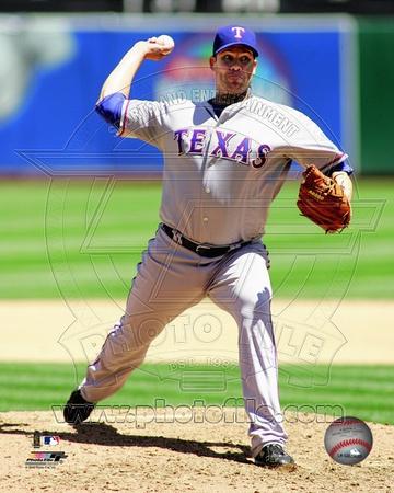 Texas Rangers - Colby Lewis Photo Photo