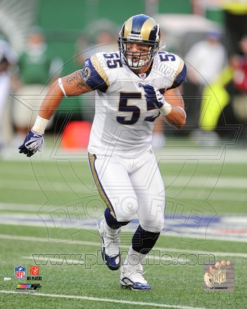 St Louis Rams – James Laurinaitis Photo Photo