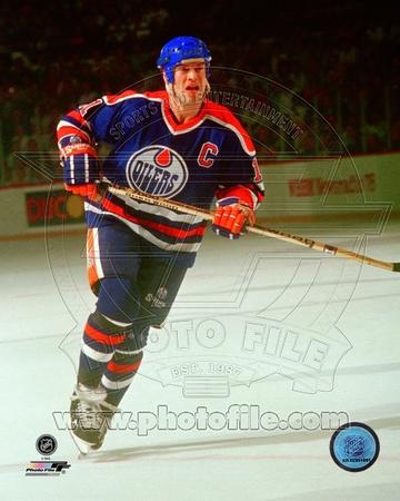 Edmonton Oilers – Mark Messier Photo Photo