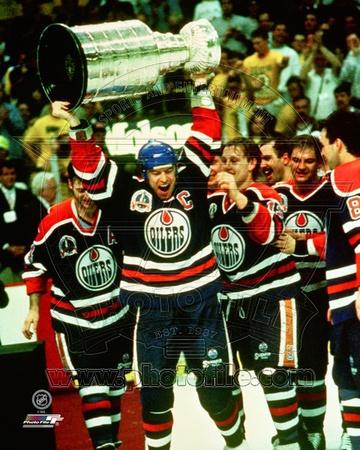 Edmonton Oilers - Mark Messier Photo Photo