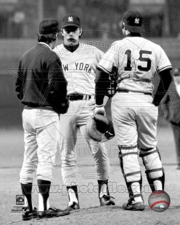 New York Yankees - Sparky Lyle Photo Photo