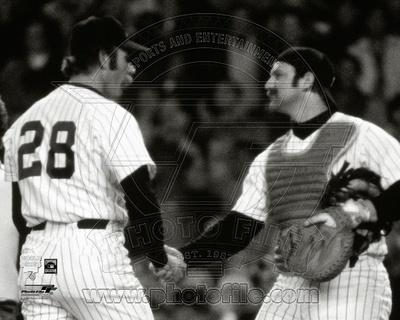 New York Yankees - Thurman Munson, Sparky Lyle Photo Photo