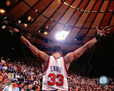 New York Knicks - Patrick Ewing Photo Photo
