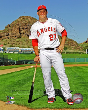 Los Angeles Angels - Mike Trout Photo Photo