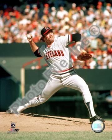 Cleveland Indians - Len Barker Photo Photo