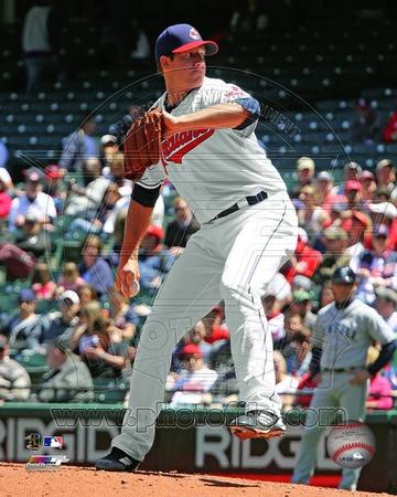 Cleveland Indians - Zach McAllister Photo Photo
