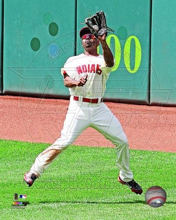 Cleveland Indians - Michael Bourn Photo Photo