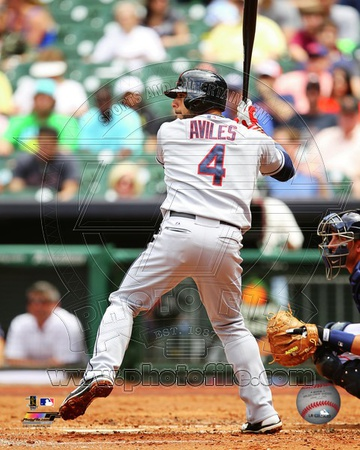 Cleveland Indians - Mike Aviles Photo Photo
