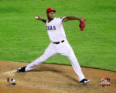 Texas Rangers - Neftali Feliz Photo Photo
