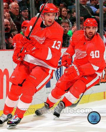 Detroit Red Wings - Pavel Datsyuk, Henrik Zetterberg Photo Photo