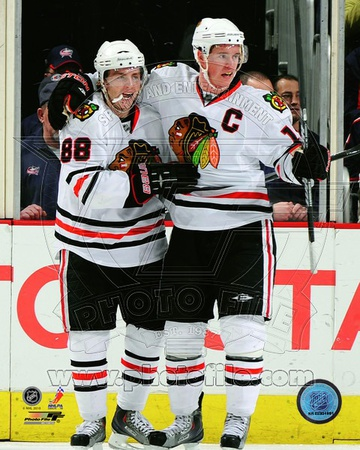 Chicago Blackhawks - Jonathan Toews, Patrick Kane Photo Photo