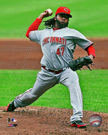 Cincinnati Reds – Johnny Cueto Photo Photo