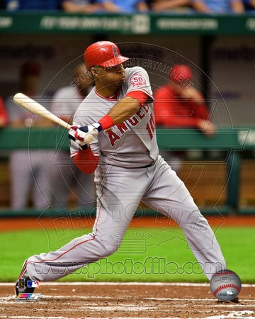 Los Angeles Angels – Vernon Wells Photo Photo