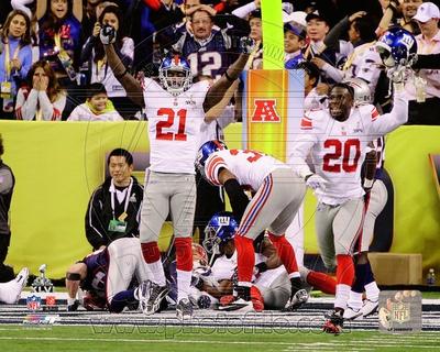 New York Giants - Kenny Phillips, Prince Amukamara Photo Photo
