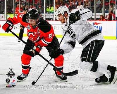 New Jersey Devils, Los Angeles Kings - Zach Parise, Dustin Brown Photo Photo