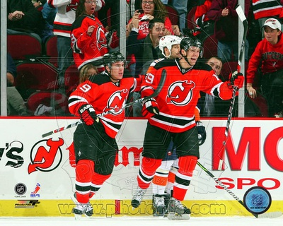 New Jersey Devils - Zach Parise, Travis Zajac Photo Photo