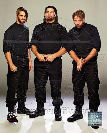 World Wrestling Entertainment - Seth Rollins, Dean Ambrose, Roman Reigns Photo Photo