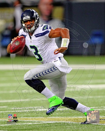 Seattle Seahawks - Russell Wilson Photo Photo
