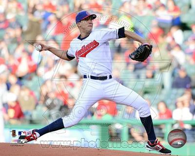 Cleveland Indians - Ubaldo Jimenez Photo Photo