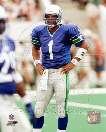 Seattle Seahawks - Warren Moon Photo Photo