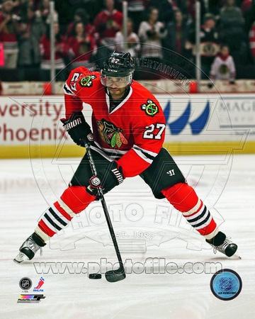 Chicago Blackhawks - Johnny Oduya Photo Photo
