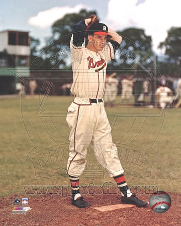 Boston Braves - Warren Spahn Photo Photo