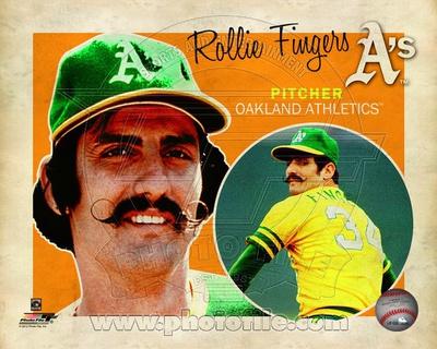 Oakland Athletics - Rollie Fingers Photo Photo
