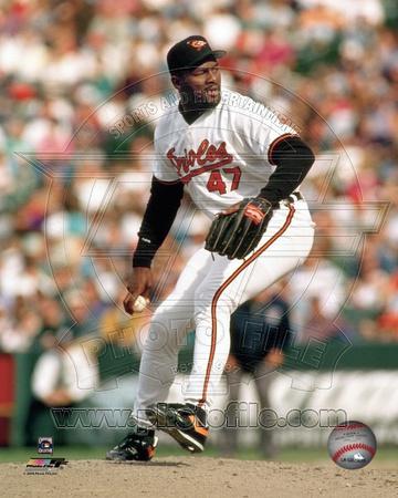 Baltimore Orioles - Lee Smith Photo Photo