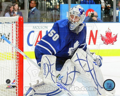 Toronto Maple leafs - Jonas Gustavsson Photo Photo