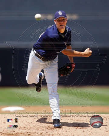 San Diego Padres – Jake Peavy Photo Photo