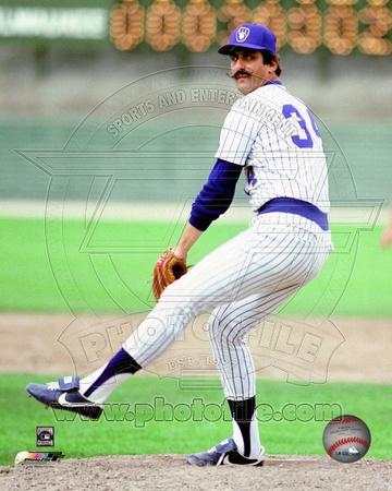 Milwaukee Brewers - Rollie Fingers Photo Photo
