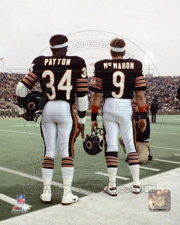 Chicago Bears - Jim McMahon, Walter Payton Photo Photo