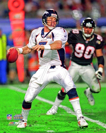 Denver Broncos - John Elway Photo Photo