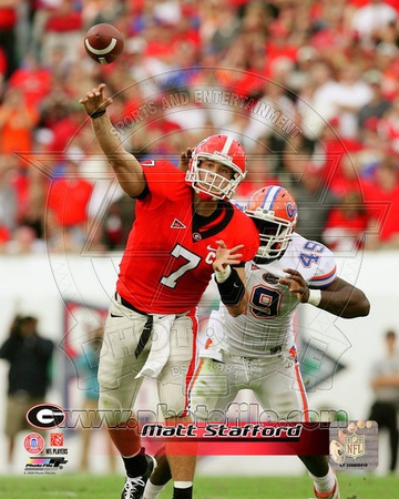 Georgia Bulldogs - Matthew Stafford Photo Photo