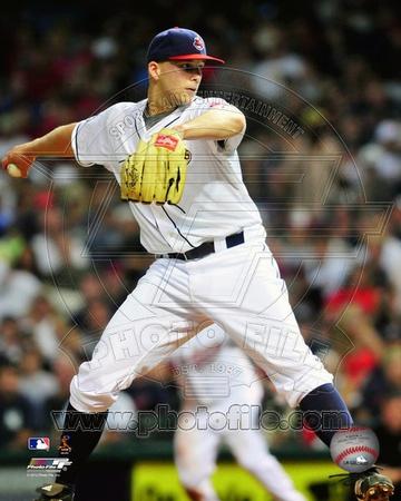 Cleveland Indians - Justin Masterson Photo Photo