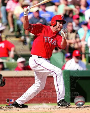 Texas Rangers - Lance Berkman Photo Photo