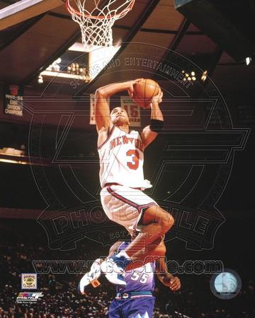 New York Knicks - John Starks Photo Photo