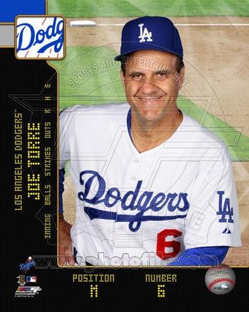 Los Angeles Dodgers - Joe Torre Photo Photo