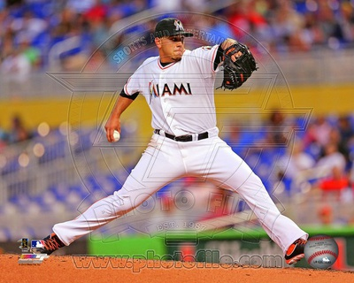 Miami Marlins - Jose Fernandez Photo Photo