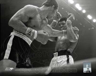 Ken Norton vs Muhammad Ali boxing photo