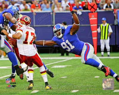 New York Giants – Justin Tuck Photo Photo