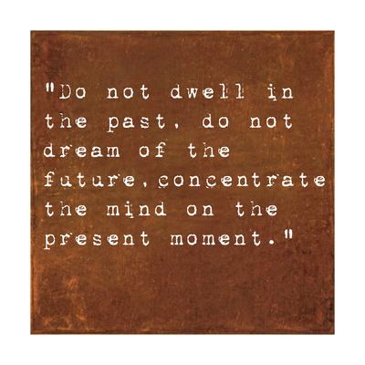 Inspirational Quote By Siddhartha Gautama (The Buddha) On Earthy Background Posters by  nagib