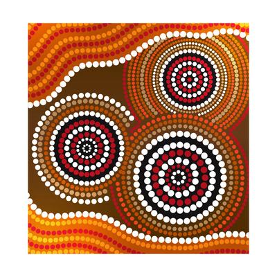 Australia Aboriginal Art Prints by Irina Solatges