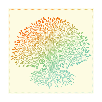 Beautiful Vintage Hand Drawn Tree Of Life Posters by  transiastock